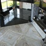 Ital Graniti - Interior sediu, vedere de la etaj